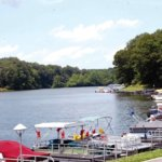 Docks at Rocky Fork Lake Hillsboro, Ohio
