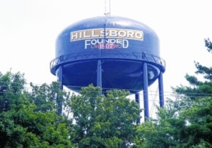 Hillsboro, Ohio Water Tower